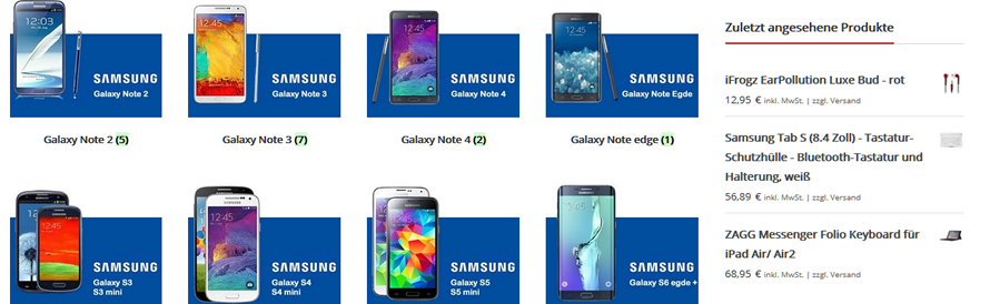 Handytasche bei mobile-bags.de online kaufen